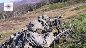 Us Army Platoon U S Army Paratroopers Breach And Platoon Live Fire