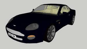 Rowan Atkinson S Aston Martin Db7 Vantage From Johnny English 3d Warehouse
