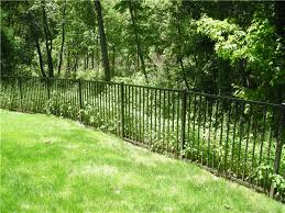 Aluminum Fence and Cedar Privacy Fence Greenwich CT Riverside Fence