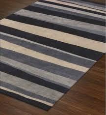 coastal striped rug