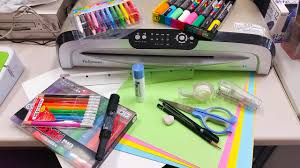 office bulletin board design. pens and supplies for making english bulletin boards office board design