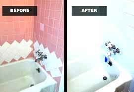 bathtub refinishing kit reviews bathtub bath resurfacing kit reviews bathtub refinishing kit