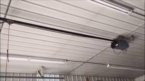 Raynor 1/2HP Garage Door Opener - YouTube