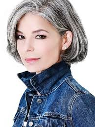Choppy bobs provide the coolness factor of bangs hairstyle and the texture of layered haircuts. Amazing Gray Hairstyles We Love Southern Living