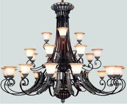 nice large chandelier lighting fabulous large lighting chandeliers design rod iron chandelier