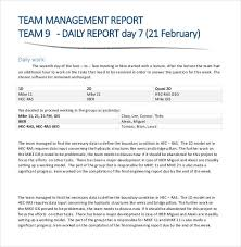 Daily Report Format In Excel 56 Daily Report Templates Pdf Doc Excel Free Premium Templates