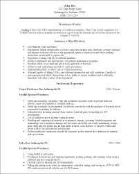 Beautiful Packing Resume Sample Contemporary - Simple resume .