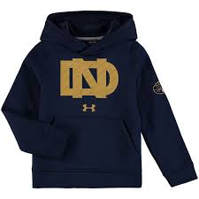 under armour youth hoodie. youth under armour navy notre dame fighting irish knute rockne throwback pullover performance hoodie i