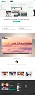 Flat Wordpress Themes 30 Creative Themes Wordpress Themes