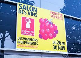 salon des vins des vignerons indépendants happens after salon du chocolat each year organised by vigneron indépendant salon des vins des vignerons