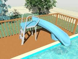 Build Your Own Pool Slide Slide For Above Ground Pools Build Your