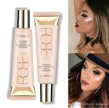 brand face liquid highlighter base primer bronzer shimmer highlighter contour face cream highlighter makeup nyc bronzer makeup highlighter from qiangpei