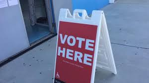 voting is underway across the bay area and the country in california the polls opened at 7 a m and people wasted no time being the first to vote