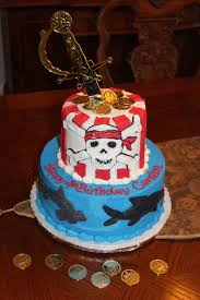 Sharks Pirate Cake Carston Would Love Pirate Birthday