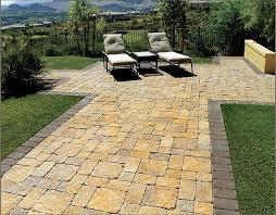 stone paver patio cost calculator ideas