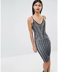 BCBGMAXAZRIA Kleid mit Ärmeln aus gepunktetem Netzstoff Sc Damen ...