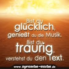 Bist Du Glücklich Genießt Du Die Musik Bist Du Traurig Verstehst