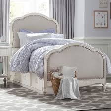 Legacy Classic Kids Harmony Victoria Panel Twin Bed with Upholstered ...