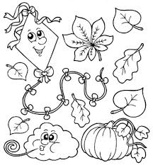 Small Picture preschool fall leaves coloring pages Printable Kids Colouring