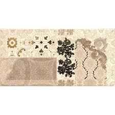 <b>Декор Absolut Keramika Flores</b> Cava 10х20 см (1001968055 ...