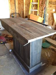patio bar wood. Reclaimed Wood Project: Outdoor Patio Bar ($20 Of Materials) Imgur