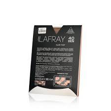 <b>Женские колготки La Fray</b> Slim Top 40den черные 3 размер ...