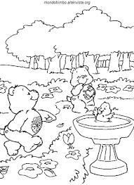 Da Colorare Gli Orsetti Del Cuore Disegni Mondo Bimbo