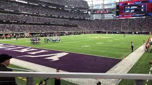 U S Bank Stadium Section 116 Row 6 Seat 10 Minnesota