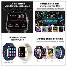 Đồng hồ thông minh Uonevic ZW23 1.69 inch Full màn hình HD Đo nhiệt độ cơ