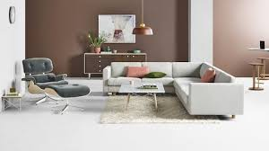 design office furniture. Interesting Design Open Lounge With A Light Gray Lispenard Sofa Sectional Next To An Eames  Marble Top Coffee In Design Office Furniture P