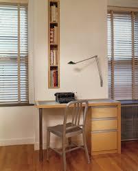 home office nook. Horizontal Bookshelf Modern Home Office Also Blinds Built In Desk Nook Light Wood Narrow Silver Chair Small