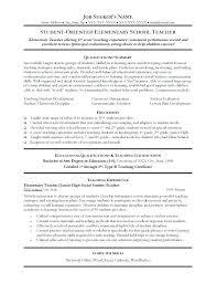 Resume Sample For Teaching Job Resume For Teaching Job Resume Format