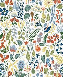 boråstapeter wallpaper by scandinavian designers herbarium 2743