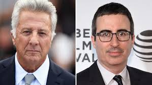 John Oliver grills Dustin Hoffman in heated exchange over sexual harassment  allegations