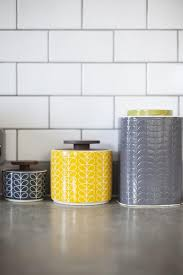 Yellow and grey kitchen | Kitchen decorating | Style at Home