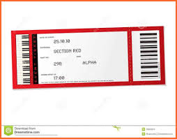 Microsoft Word Ticket Templates Microsoft Word Ticket Template Research Engineer Sample Thefreedl