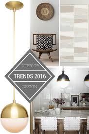 Small Picture 20 Best Home Decor Trends Adorable Home Design Trends 2016 Home