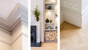 Room Skirting Designs Victorian Living Room Joinery Architrave And Skirting Detail