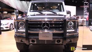 2015 mercedes g wagon interior. Fine 2015 2015 Mercedes Benz G Class G550 SUV  Exterior And Interior Walkaround  Detroit Auto Show YouTube Intended Wagon N