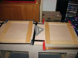 how to make kitchen cabinet doors from plywood most ostentatious with glass flat panel interior jig