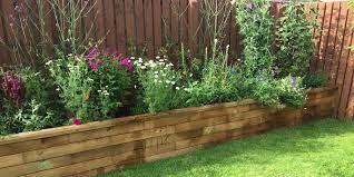 ideas for small gardens raised garden