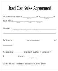 Auto Purchase Agreement Form Simple Resume Examples For Jobs New Auto Purchase Agreement Form
