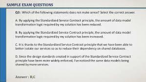 Soa Principles : 1. Standarized Service Contract