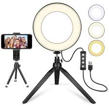 Ring Light Tripod For Iphone Top 10 Best Selfie Light Rings With Tripod Reviewed In 2019