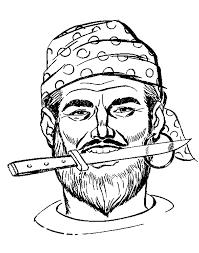 Kleurplaat Piraten Animaatjesnl