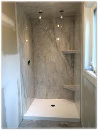 tile over cultured marble shower floor