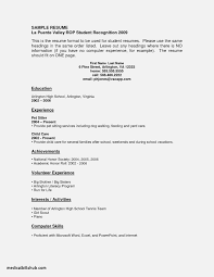Resume For Cna With No Experience Associates Degree In Medical