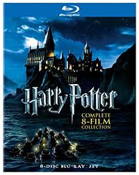harry potter plete 8 film collection blu ray