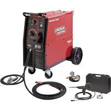 mig flux core welders mig welders wire feed welders shipping lincoln electric power mig 216 flux core mig welder magnum