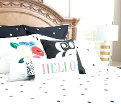 spade comforter new dot set kate